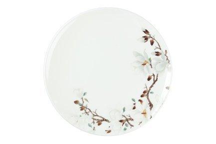 Royal Aurel Набор тарелок Магнолия 20 см, 6 шт. royal aurel набор тарелок пион белый 25 см 6 шт