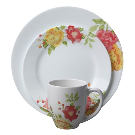 Corelle Набор посуды Emma Jane, 16 пр. 1114336 Corelle moyou london плитка для стемпинга time traveller collection 01 back to the 60 s
