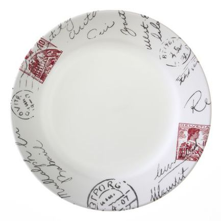 Corelle Тарелка закусочная Sincerely Yours, 22 см 1108509 Corelle тарелка закусочная флора без инд упаковки