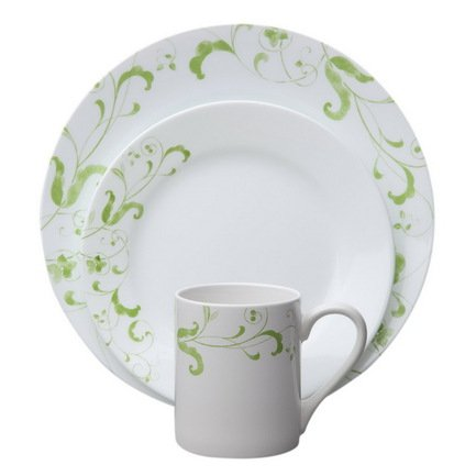 Corelle Набор посуды Spring Faenza, 16 пр. 1107615 Corelle