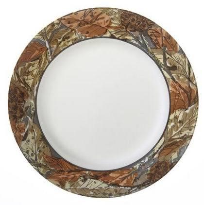 Corelle Тарелка обеденная Woodland Leaves, 27 см 1109567 Corelle corelle тарелка закусочная woodland leaves 22 см 1109568 corelle