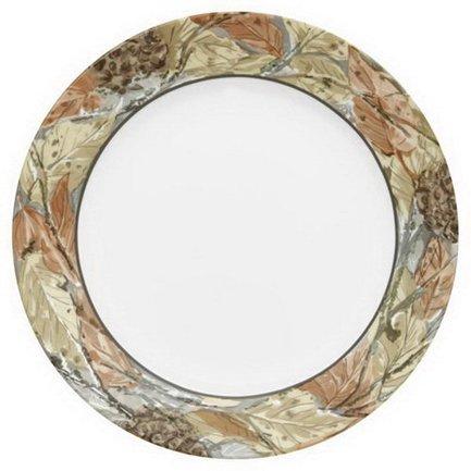 Corelle Тарелка закусочная Woodland Leaves, 22 см 1109568 Corelle corelle тарелка обеденная splendor 27 см 1108512 corelle