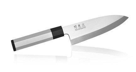 Нож Деба Hocho Aluminium, 16.5 см, сталь 1K6, рукоять алюминиево-пластиковая от Superposuda
