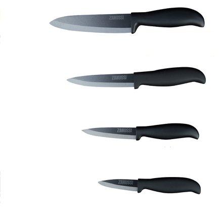 Zanussi Набор керамических ножей Milano, 4 пр. набор кухонных ножей квартет кизляр