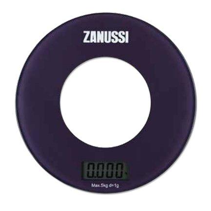 Zanussi Весы кухонные цифровые Bologna, 18х18х1.8 см, фиолетовые ZSE21221BF Zanussi 500г х 0 01 г цифровые весы карманные ювелирные изделия вес весы баланс точности