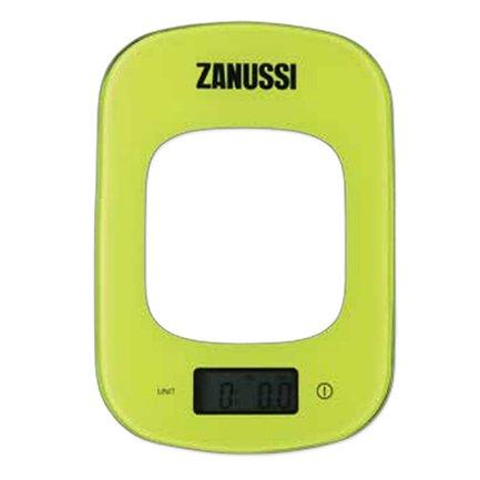 Zanussi Весы кухонные цифровые Venezia, 23.5x16.5x1.6 см, зеленые, вес 0.6 кг, вес измерений 5 кг ZSE22222DF