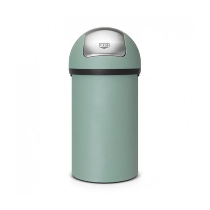Brabantia Мусорный бак с нажимной крышкой (60 л), 40х82 см, мятный 402661 Brabantia бак мусорный idea цвет зеленый 60 л м 2393