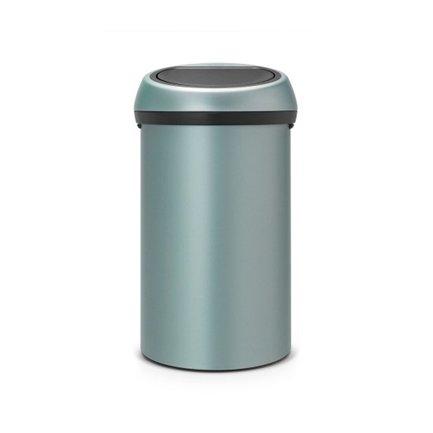 Brabantia Мусорный бак Touch Bin (60 л), 40х71.5 см, мятный 402449 Brabantia бак мусорный idea цвет зеленый 60 л м 2393