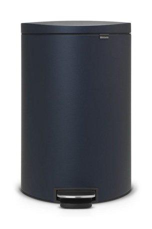 Brabantia Мусорный бак с педалью (40 л) FB 103889 Brabantia brabantia мусорный бак touch bin 20л 29 5х51 5см стальной 415920 brabantia