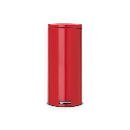 Brabantia Мусорный бак с педалью Silent (30 л), 66х39х29.5, красный 483769 Brabantia brabantia мусорный бак с педалью newicon 12л 40х24х32 5см красный 112003 brabantia