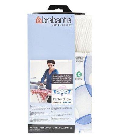 Brabantia Чехол для гладильной доски PerfectFlow, 135х45 см 101465 Brabantia чехол для гладильной доски brabantia ящерица с войлоком 124 см х 38 см цвет голубой 265006