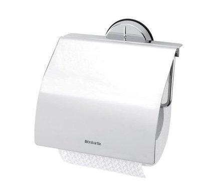 Brabantia Держатель для туалетной бумаги серии Profile, 14х14.5 см 427602 Brabantia держатель для туалетной бумаги brabantia profile цвет черный 483400