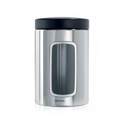 Brabantia Контейнер для сыпучих продуктов с окном (1.4 л) 132803