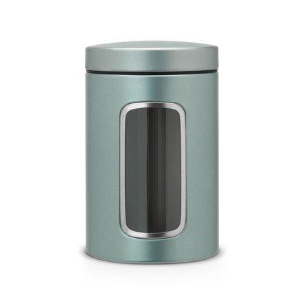 Brabantia Контейнер для сыпучих продуктов с окном (1.4 л) 484360 Brabantia brabantia мусорный бак с педалью newicon 30 л 67 5х30х34 см серый металлик