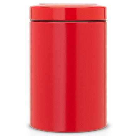 Контейнер с прозрачной крышкой (1.4 л) 484049 Brabantia контейнер с прозрачной крышкой 1 4 л 11х17 5 см 126208 brabantia