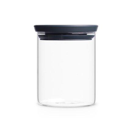 Brabantia Модульная стеклянная банка (0.7 л) 298288 Brabantia elff ceramics стеклянная банка с крышкой фрукты 1200 мл