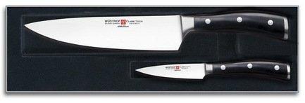 Wusthof Набор кухонных ножей Classic Ikon, 2 пр. набор кухонных ножей vine jiro