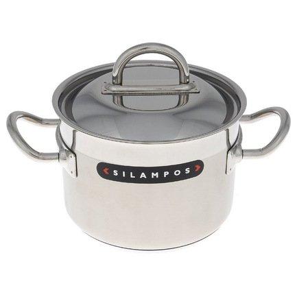 Silampos Кастрюля глубокая, 18 см (3 л) 632115596618 Silampos кастрюля для варки овощей fissman asparagus со вставкой пароваркой и крышкой 3 5 л