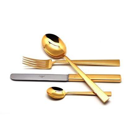 Cutipol Набор столовых приборов Bauhaus Gold, 24 пр. 9321 Cutipol