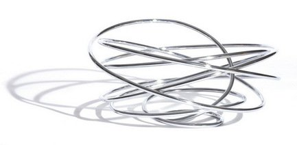 Black+Blum Ваза для фруктов Loop, 22.5х25.5х12.5 см FR001 Black+Blum black blum подсвечник стеклянный t loop