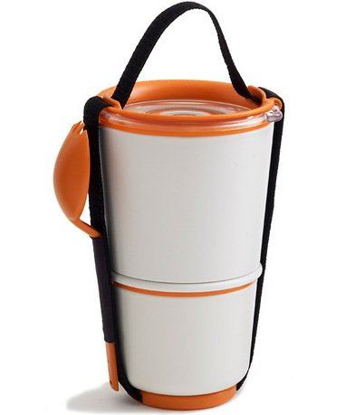 Black+Blum Ланч-бокс Lunch Pot, оранжевый, 11х19 см BP003 Black+Blum ланч бокс iris kids i9929 tn 15x15cm orange