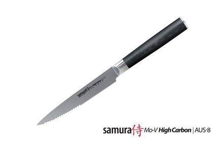 Samura Нож для стейка Mo-V, 12 см нож для стейка legioner augusta 47854