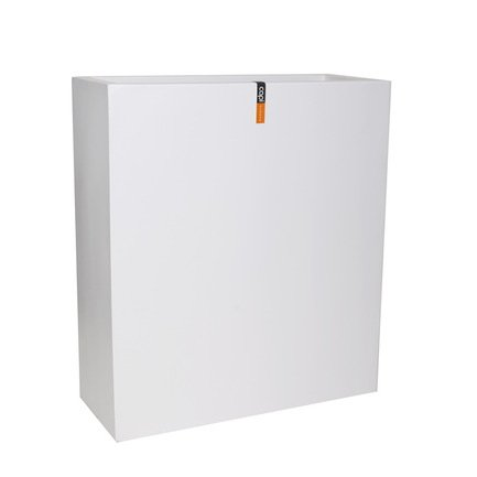 Capi Кашпо Lux Дивайдер высокий, белое, 88х36х100 см 972WFL