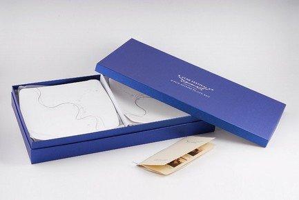 Ji-Lian Набор закусочныхтарелок серая лента, 6 пр кошельки бумажники и портмоне s t dupont st180200