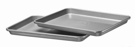 все цены на KitchenAid Набор из двух противней 1/2 и 1/4 листа, 33х24 см, 2 шт., серые онлайн