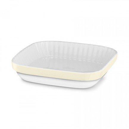 KitchenAid Форма для запекания, 26х26 см, кремовая KBLR09AGAC KitchenAid kitchenaid форма для запекания 27 5х37х7 5 см