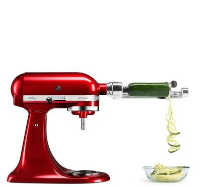 KitchenAid Насадка к миксеру спирализатор(для чистки фруктов и овощей) 5KSM1APC KitchenAid kitchenaid нож для чистки овощей и фруктов kitchenaid красный