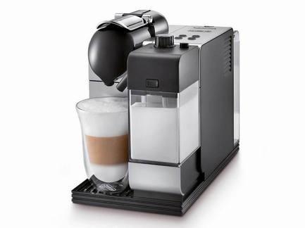 Кофемашина Nespresso Lattissima +, серебряная от Superposuda
