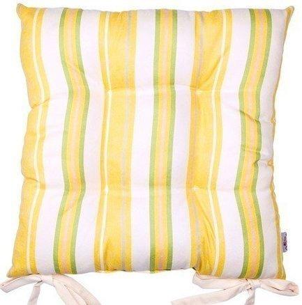Apolena Подушка на стул Yellow flowers, 40x40 см, мультиколор P705-7662/1 Apolena рюкзак xd design 15 0 inch bobby black p705 454 p705 545