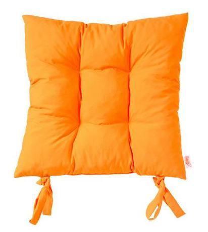 Apolena Подушка на стул Оранж, 40x40 см, оранжевая P305-Z322/1 Apolena