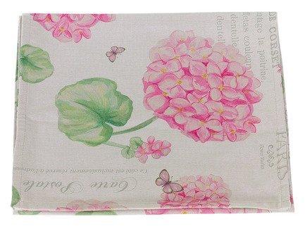 Apolena Дорожка на стол Розовая гортензия, 40х145 см, мультиколор apolena