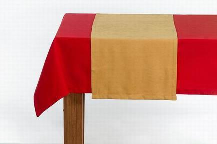 Apolena Дорожка на стол Осенние листья, 40х140 см, горчичная apolena