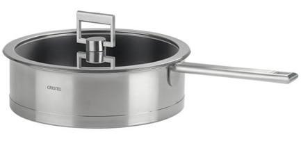 Cristel Сотейник с крышкой (4.2 л), 26 см, антипригарное покрытие cristel мельничка для соли прозрачная 15 см мехаизм пежо
