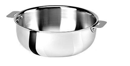 Cristel Сотейник, 22 см (3 л) 00024670 Cristel cristel мельничка для соли прозрачная 15 см мехаизм пежо 00024752 cristel