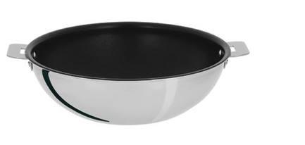 Cristel Вок Триламин (3.9 л), 28х8.8 см, без ручек 00024763 Cristel 50 блюд приготовленных в сковородке вок от простого до изысканного