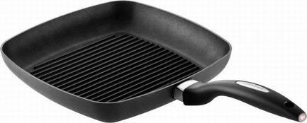 Scanpan Сковорода-гриль,27х27 см, черная