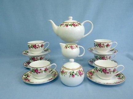 Takito Сервиз чайный Роза чайная на 6 персон, 17 пр.