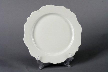 Takito Набор закусочных тарелок Гармония, 22.5 см, 6 пр., белые takito набор салатников аквамарин 15 5 см 2 пр