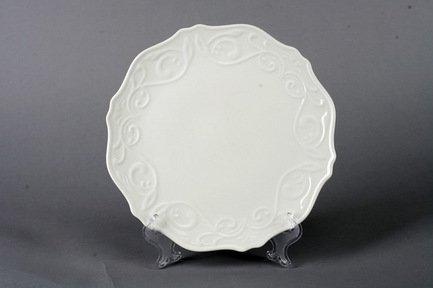 Набор подстановочных тарелок Камея, 26.5 см, 6 пр., белые