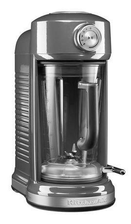 KitchenAid Блендер с электромагнитным приводом Artisan (1.75 л), серебрянный медальон kitchenaid набор прямоугольных чаш для запекания 0 45 л 2 шт красные
