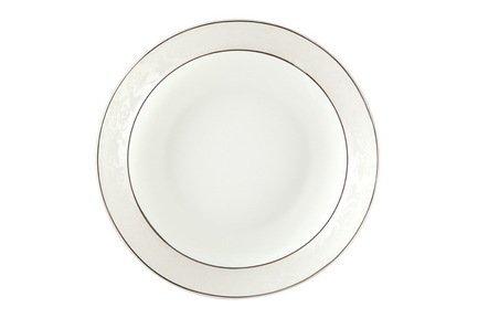 "Набор тарелок суповых ""Пион белый"", 20 см, 6 шт., арт.705r"