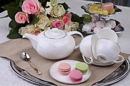 Royal Aurel Чайный сервиз Хризантема на 6 персон, 13 пр. 113r Royal Aurel royal aurel чайный сервиз магнолия на 6 персон 15 пр