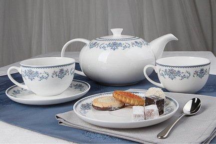 Royal Aurel Чайный сервиз Саксония на 6 персон, 13 пр. 141r Royal Aurel royal aurel чайный сервиз магнолия на 6 персон 15 пр