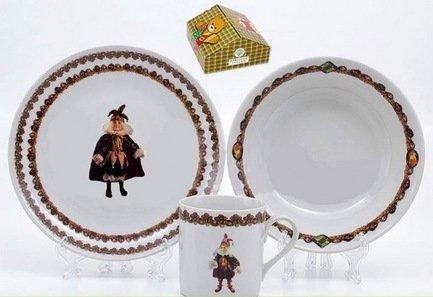 Leander Детский сервиз с кружкой Кукла Орлекино (0.22 л), 3 пр.