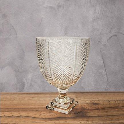 Eichholtz Ваза Винкс, 17x17x27 см, прозрачная eichholtz статуэтка budha
