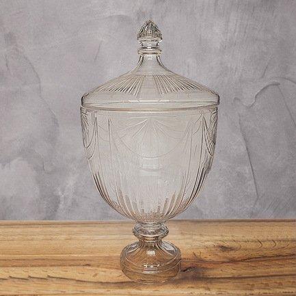 Eichholtz Ваза Трофи, 36x36x66 см, прозрачная 2210F Eichholtz eichholtz ваза